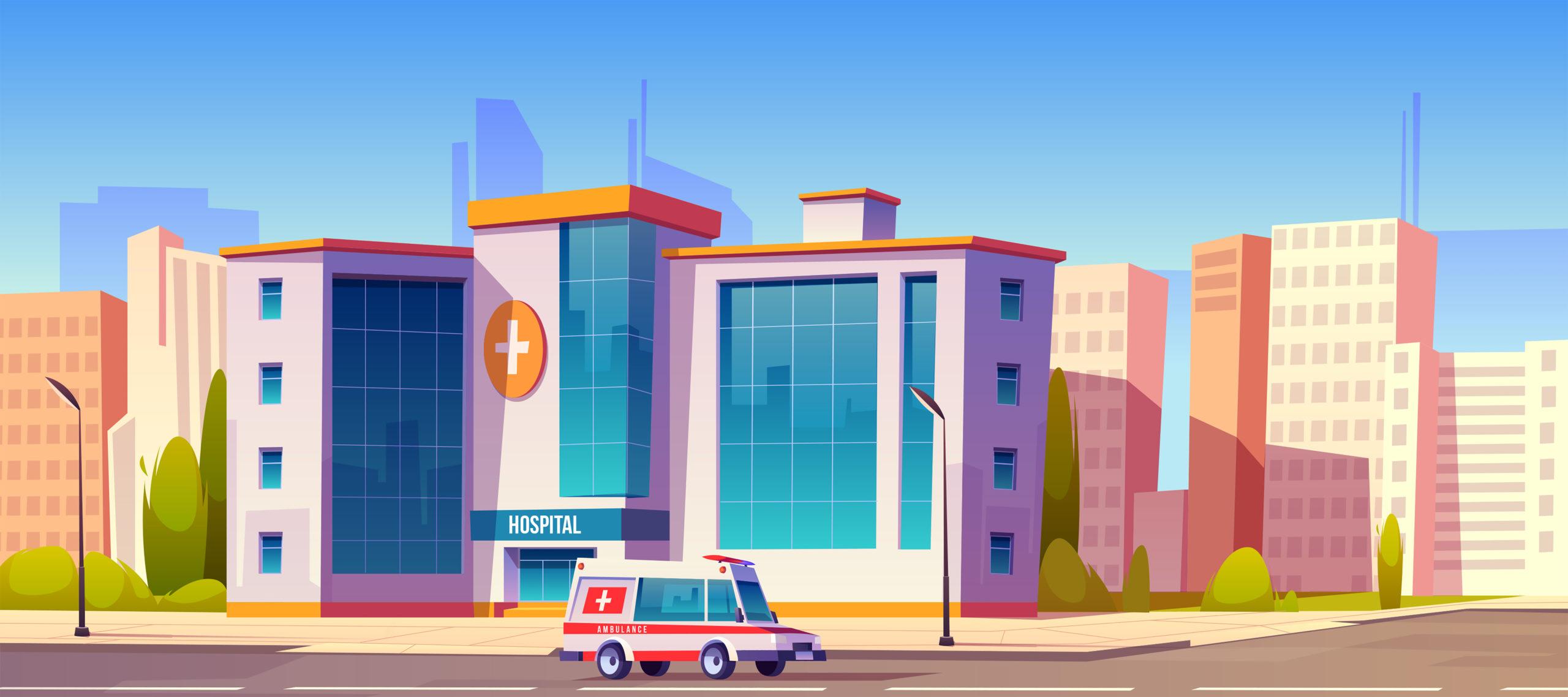 ilustración para el seguro de hospitalización